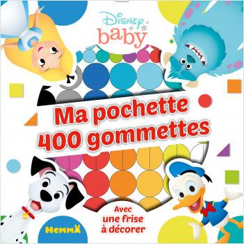 Disney Baby - Ma pochette 400 gommettes - Pochette de gommettes - Dès 4 ans