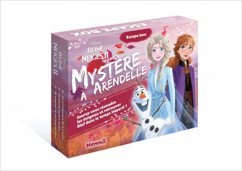 Disney La Reine des Neiges 2 - Escape box - Mystère à Arendelle