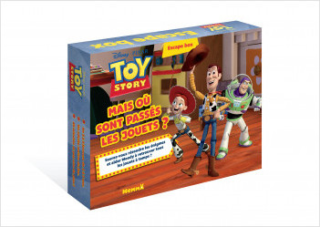 Disney Toy Story - Escape box - Mais où sont passés les jouets ? - Escape game enfant - Dès 5 ans