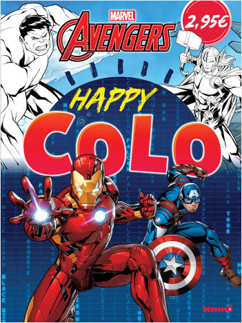 Marvel Avengers - Happy Colo