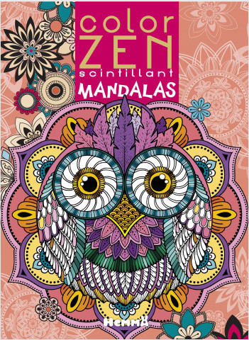Color Zen scintillant - Mandalas