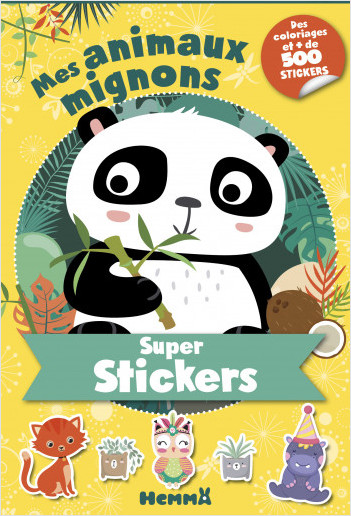 Super stickers ! Mes animaux mignons (Panda)