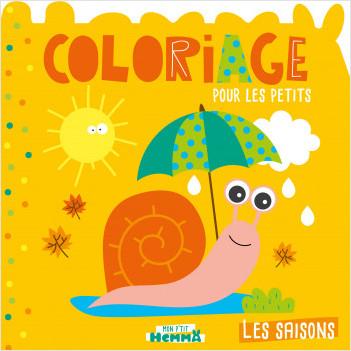Mon P'tit Hemma - Coloriage pour les petits - Les saisons
