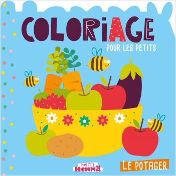 Mon P'tit Hemma - Coloriage pour les petits - Le potager