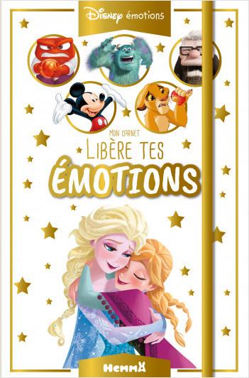 Disney émotions - Mon carnet - Libère tes émotions