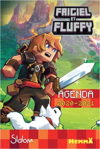 Frigiel et Fluffy - Agenda scolaire 2020-2021