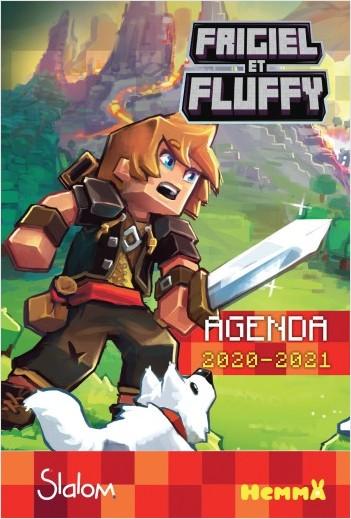 Frigiel et Fluffy - Agenda scolaire 2020-2021 – Minecraft