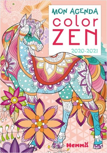 Mon agenda Color zen 2020-2021