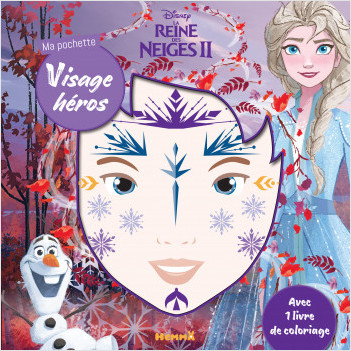 Disney La Reine des Neiges 2 - Ma pochette visage héros