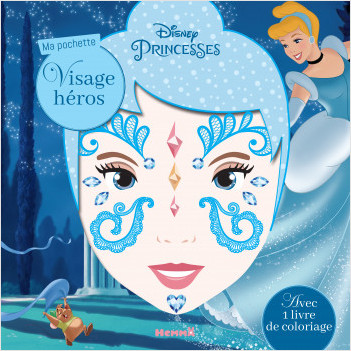 Disney Princesses - Ma pochette visage héros (Cendrillon)
