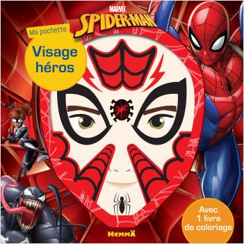 Marvel Spider-Man - Ma pochette visage héros
