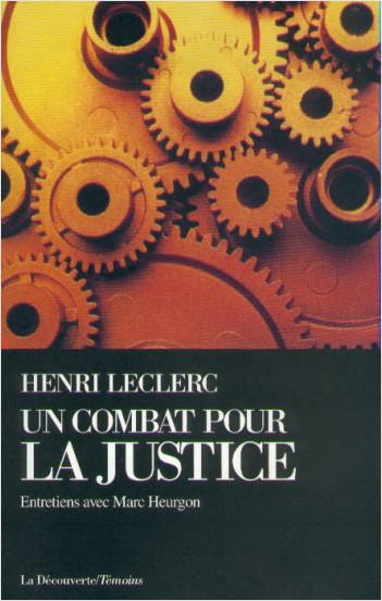 Un combat pour la justice