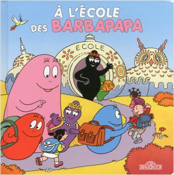 A l'école des Barbapapa - livre animé