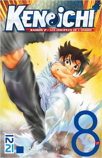 Ken-ichi, saison 2 : Le disciple de l'ombre- tome 08